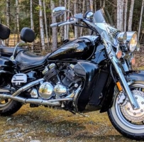 2006 Yamaha 1300CC Royal Star deluxe - $6350